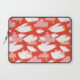 Birs and clouds Laptop Sleeve