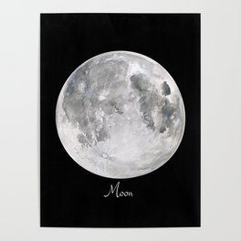 Moon #2 Poster