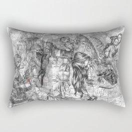 carré mystique Rectangular Pillow