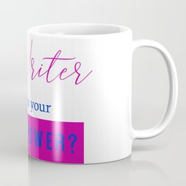 Writer Superpower Coffee Mug