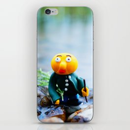 exhausted gwerg iPhone Skin