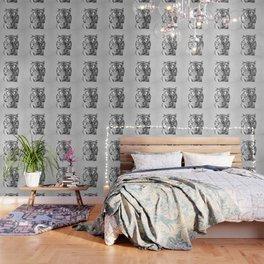 Tiger - Black & White Wallpaper