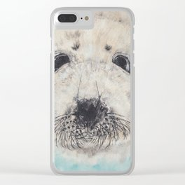 Seal with it Clear iPhone Case