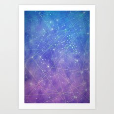 Map of the Stars Art Print