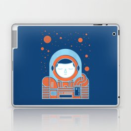 Orange Space Laptop & iPad Skin