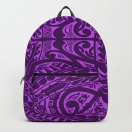 Polynesian inspired design Backpack