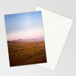 Watching the Marine Layer Move Into Big Sur Stationery Cards