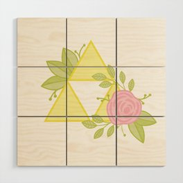 Garden of Power, Wisdom and Courage Wood Wall Art
