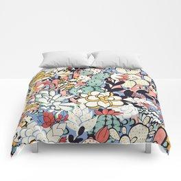 Blue Sky Succulents Comforters
