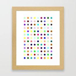 Brotizolam Framed Art Print