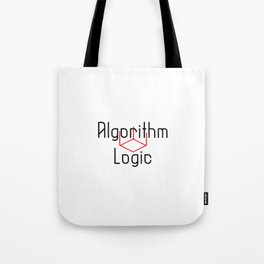 Cube Algorithm Logic Speed Cubing Buster Tote Bag