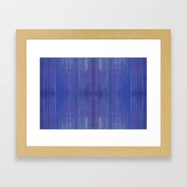 Blue Steel Framed Art Print