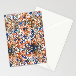 Indian Watercolor Splash Stationery Cards
