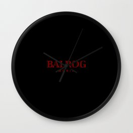 Flame From Moria Wall Clock