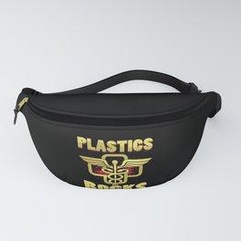 Plastic Rocks Plastic Surgeon Cosmetic Surgery Gift Fanny Pack