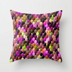 Gum balls.... Throw Pillow
