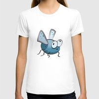 bug T-shirts featuring Bug by Massimo Merlini