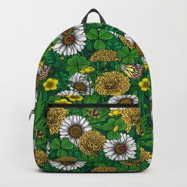 Spring green Backpack