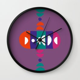 Storm Calka Purple Friends Wall Clock