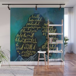 The wait was worth it. A Court of Wings and Ruin (ACOWAR). Wall Mural