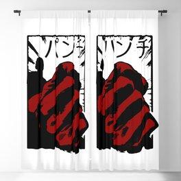 Punch man Blackout Curtain