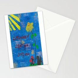 Little Pieces of Light Go a Long Way Stationery Cards