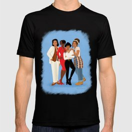 Living Single / Khadijah, Max, Regine & Synclaire T-shirt