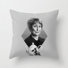Not your housekeeper Throw Pillow