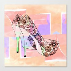 The Right Shoes 2 Canvas Print