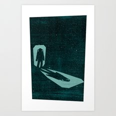 A door through space Art Print