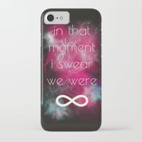 smiths iPhone & iPod Cases featuring we were infinite by Gabrielle Agius