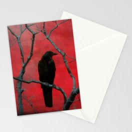 The Color Red Stationery Cards