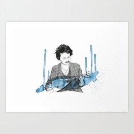 Beirut Portrait Art Print