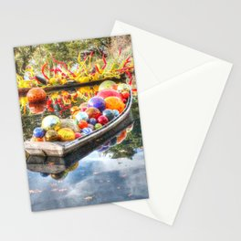 Floating Glass Stationery Cards