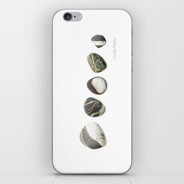 Clovelly Pebbles iPhone Skin