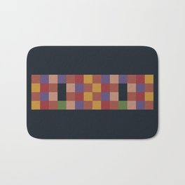 Mosaic Game Bath Mat