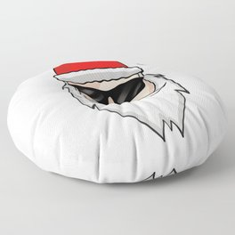 Cool Santa Claus - Christmas Sunglasses Winter Floor Pillow