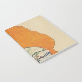 Egon Schiele Standing Man Figure Notebook