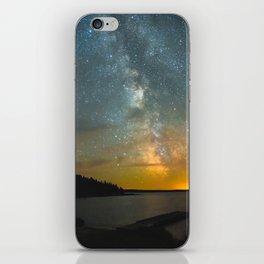 Milky Way Galaxy in Manitoba iPhone Skin