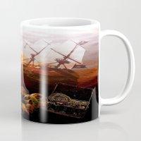pirates Mugs featuring Pirates  by valzart