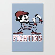 Fightins Canvas Print