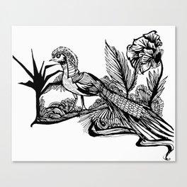 #2 Canvas Print