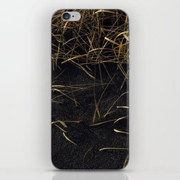 Black & Gold iPhone Skin