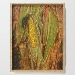 The last ear of corn Serving Tray