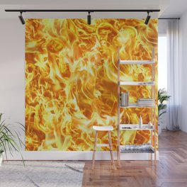 Abstract fire   Wall Mural