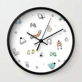 Winter time Wall Clock