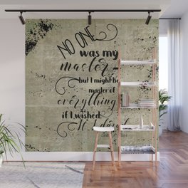 A Court of Mist and Fury Inspired, Master of Everything Wall Mural