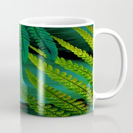 Forest Fern Green Coffee Mug