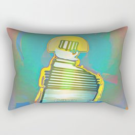 PAWN / White / Chess Rectangular Pillow