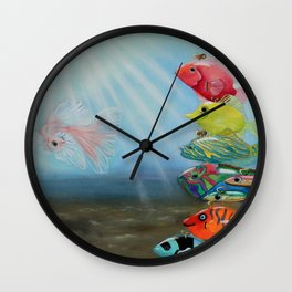 All Wound Up Wall Clock